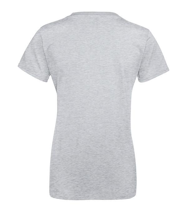 """Женская футболка """"Хлопок"""" 2XL, Серо-Лиловый"""