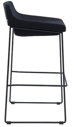 Полубарный стул Comfy черный TM Concepto, фото 2