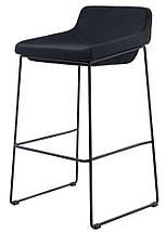 Полубарный стул Comfy черный TM Concepto, фото 3