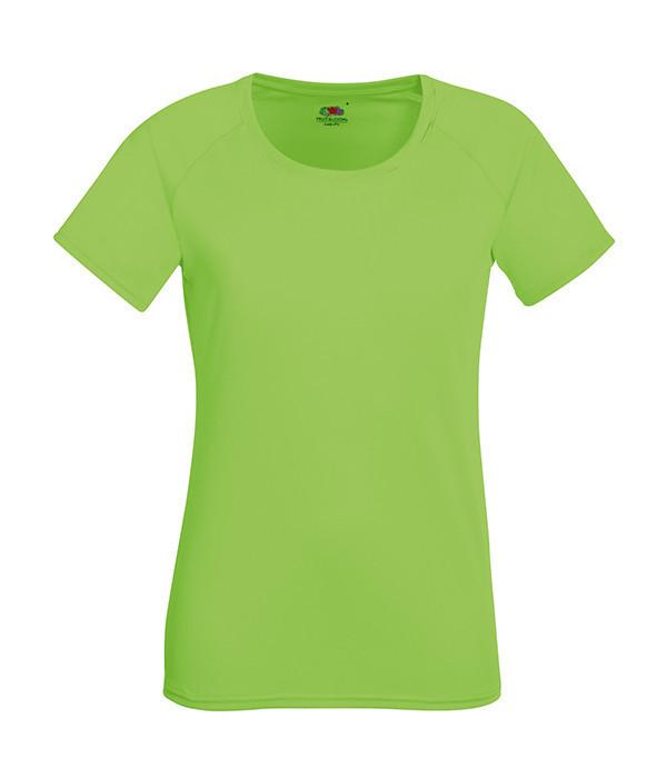 """Женская футболка """"Хлопок"""" 2XL, Лайм"""
