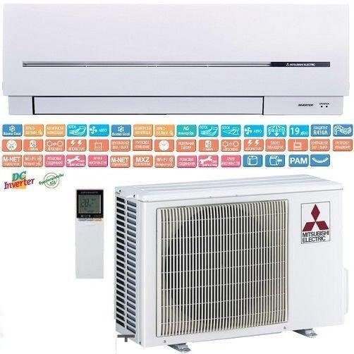 Кондиционер-  настенный Mitsubishi Electric Standart Inverter (-15°C) MSZ-SF25VE/MUZ-SF25VE