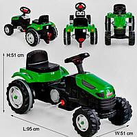 Веломобиль – Трактор на педалях 07-314 ЗЕЛЕНАЯ