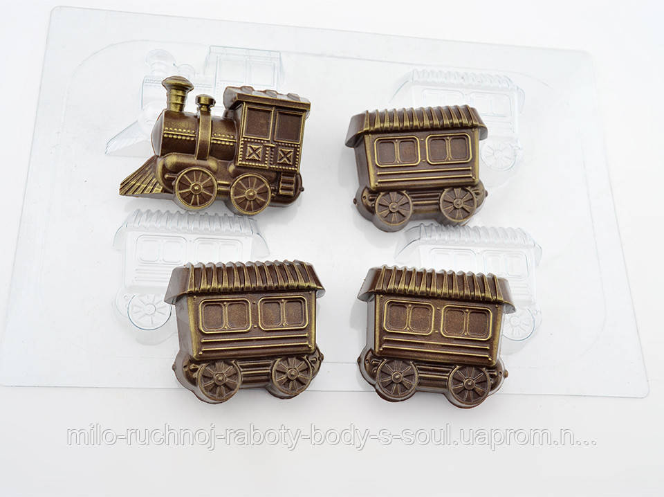 Форма для шоколада Поезд