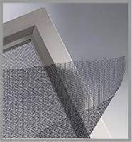Противомоскитная сетка стеклопластик в рулоне для пластиковых окон Китай 1.40м\50м ( серая зеленая синяя
