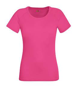 Женская спортивная футболка XS, Малиновый
