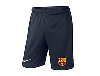 Мужские футбольные шорты Барселона, Barcelona, темно-синие