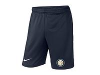 Мужские футбольные шорты Интер, Inter, темно-синие