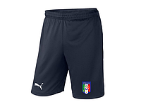 Мужские футбольные шорты Сборной Италии, Italy, темно-синие