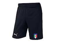 Мужские футбольные шорты Сборной Италии, Italy, черные