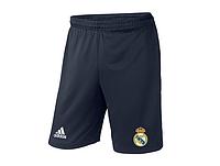Мужские футбольные шорты Реал Мадрид, Real Madrid, темно-синие
