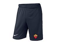 Мужские футбольные шорты Рома, Roma, темно-синие