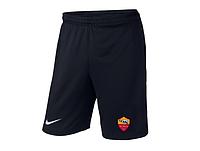 Мужские футбольные шорты Рома, Roma, черные