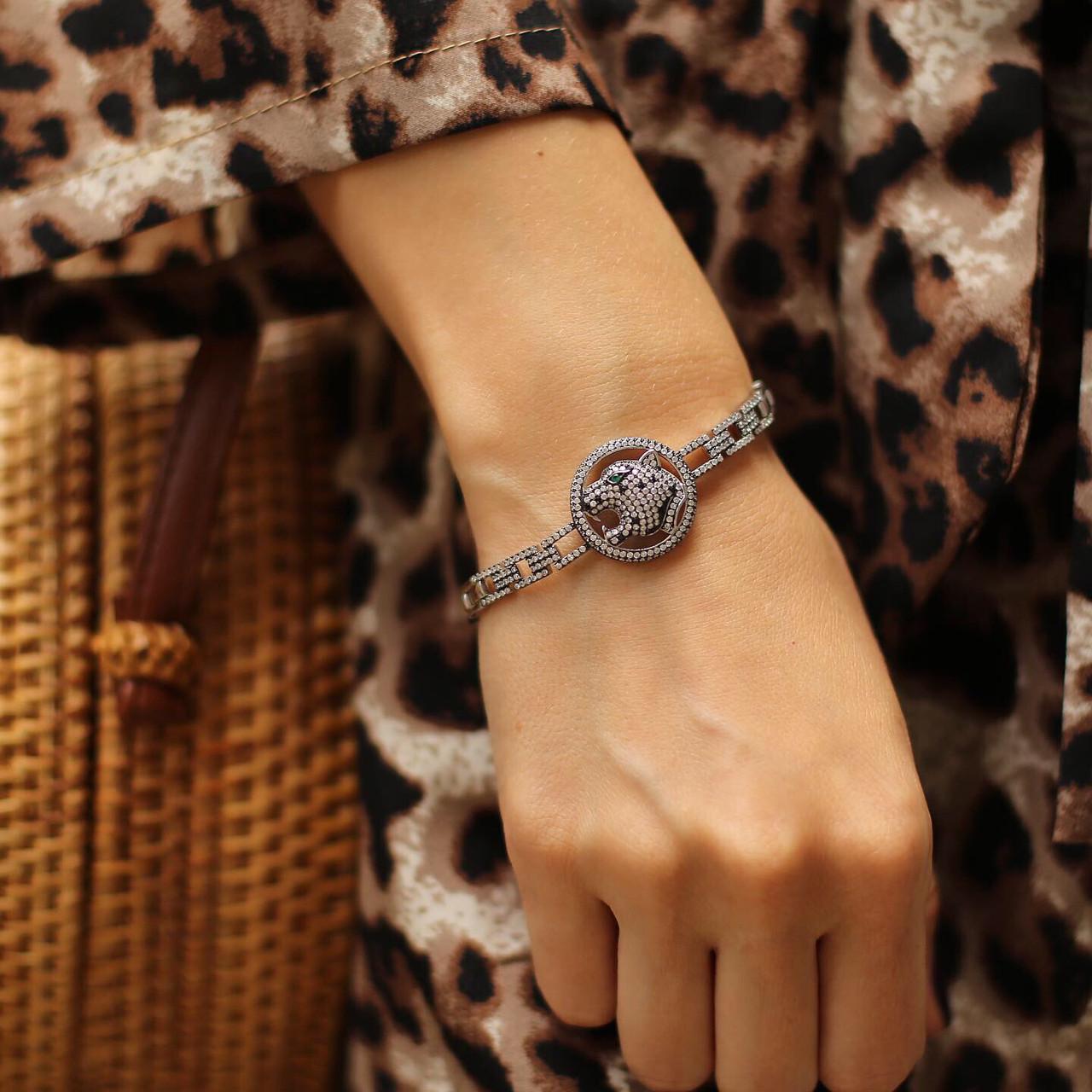 Браслет из серебра 925 My Jewels в стиле Cartier модель пантера