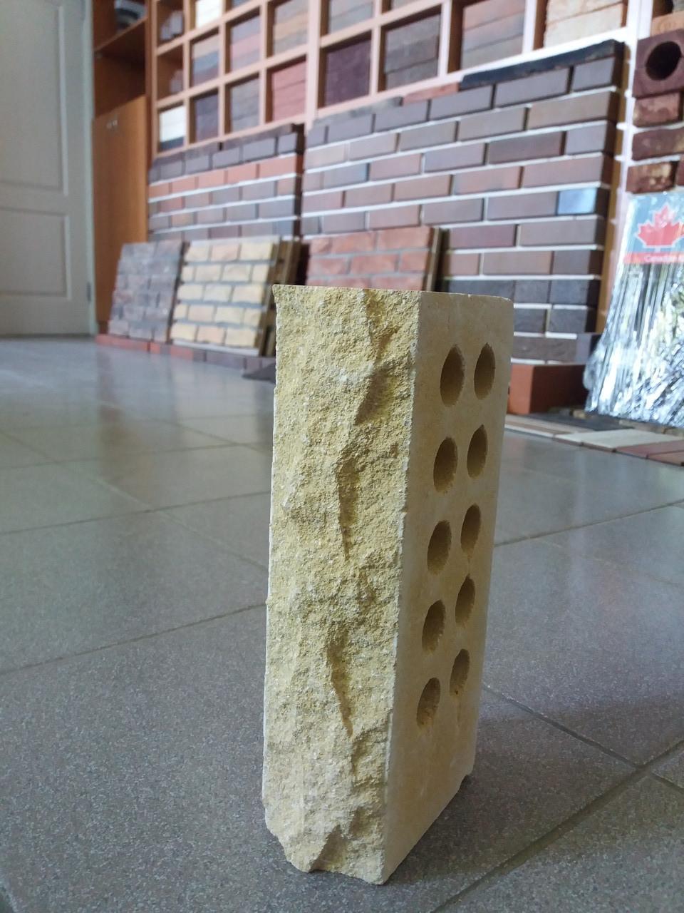 Облицовочный кирпич Lend Brick стандартный пустотелый «скала»