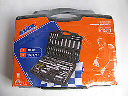 Набор инструментов Miol 58-100 (110 предметов), фото 2