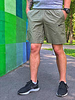 Шорты плавательные мужские летние стильные Nike, цвет хаки