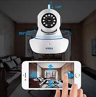 Радио няня WiFi Камера беспроводная видео наблюдения IP Wi Fi камера KERUI