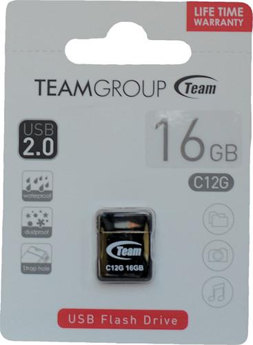 Team USB 2.0 C12-G 16GB Black (TC12G16GB01)