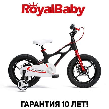 """Велосипед детский RoyalBaby SPACE SHUTTLE 14"""", OFFICIAL UA, черный, фото 2"""