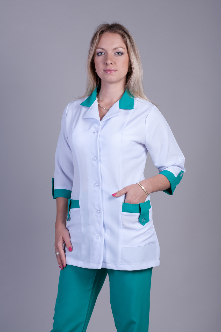 Медицинский костюм 1212 (габардин)