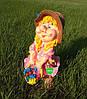 Садовая фигура Гном Скромница, фото 4