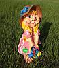 Садовая фигура Гном Скромница, фото 5