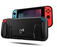 Силіконовий чохол GripCase MEO з ручками для Nintendo Switch / Скла / Плівки /