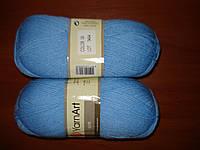 YarnArt Elite - 09 голубой