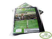 Агроволокно черное Agreen 50г/м2 размер 1,6х10м для мульчирования и клубники