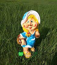 Садовая фигура Малышка, фото 3