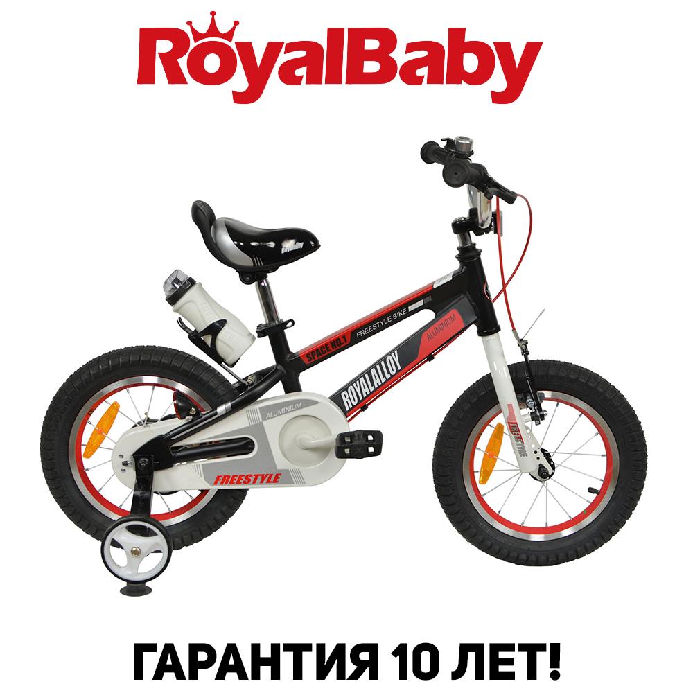 """Велосипед детский RoyalBaby SPACE NO.1 Alu 12"""", OFFICIAL UA, черный"""