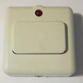 """Кнопка звонка """"Белая с подсветкой"""", фото 1"""