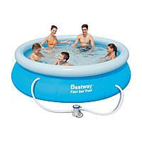 Надувной бассейн детский Bestway 57109 (305x76см)