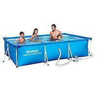Каркасный бассейн для детей Bestway 56411 (300x201x66см)