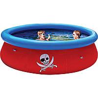 Детский бассейн надувной Пираты 3D Bestway 57243