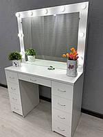 Стол для макияжа с лампочками V359, фото 1