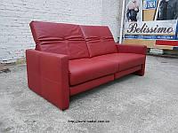 Новый трехместный диван кожаный диван реклайнер шкіряний диван