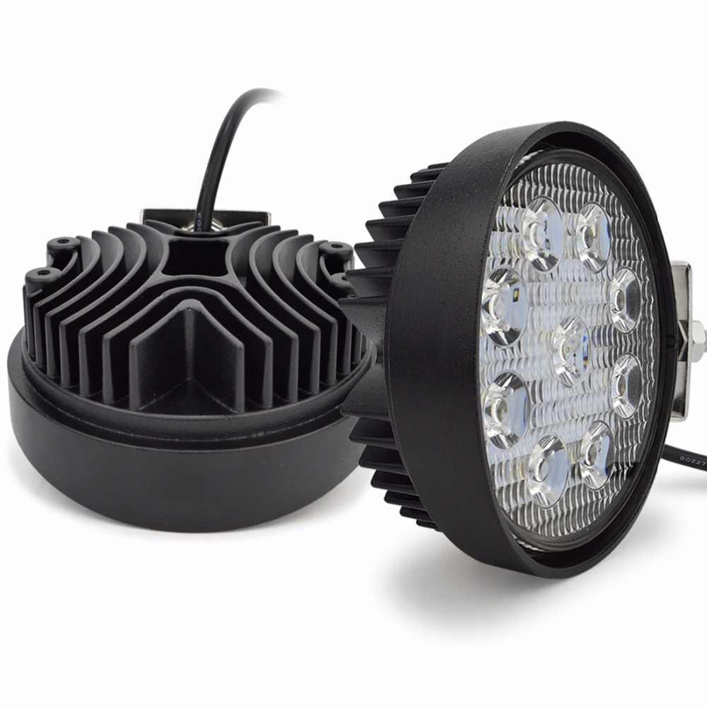 Светодиодная LED фара 5D 3W*9 27Вт. 2700 lms 6000K IP67 12В-36В