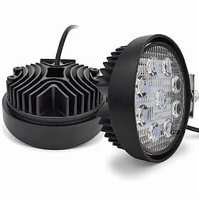 Світлодіодна LED фара 5D 3W*9 27Вт. 2700 lms 6000K IP67 12В-36В