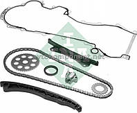 Комплект цепи привода распредвала FIAT/OPEL 1.3JTD 188A8/188A9/199B1/A13DTE/Z13DTH 2003- (производство INA) (арт. 559 0028 30), AGHZX