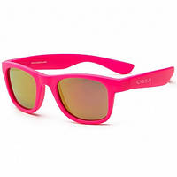 Koolsun Wave - Солнцезащитные очки (1-5 лет), цвет неоново-розовый