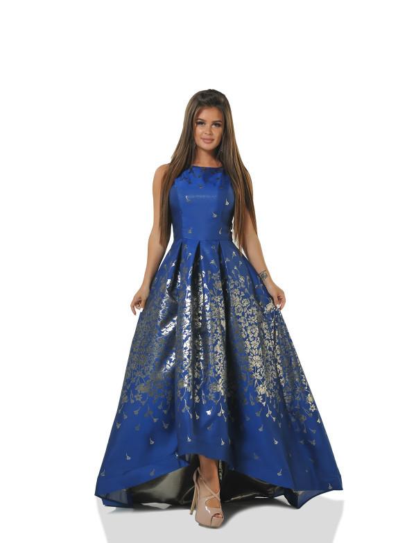 Платье женское синее вечернее ENIGMA MKENG 2255