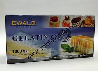 Желатин листовой 120 Blum Titan 200 листов, Ewald Германия