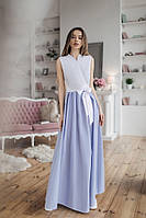 """Длинное платье в пол """" На запах """" Dress Code, фото 1"""