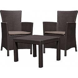 Мебель для дачи Allibert Rosario Balcony Brown