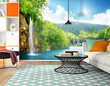 Фотообои текстурированные, виниловые Водопады, 250х380 см, fo01inV_pr11912