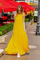 """Длинное платье в пол """" Штапель """" Dress Code, фото 1"""