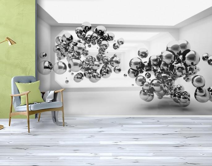 Фотообои бумажные гладь, Абстракция, 200х310 см, fo01inB_ab12428