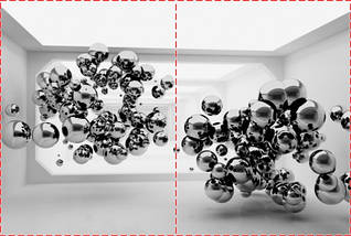 Фотообои бумажные гладь, Абстракция, 200х310 см, fo01inB_ab12428, фото 2