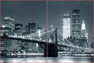 Фотообои бумажные гладь, Мосты, 200х310 см, fo01inB_ar11381, фото 2